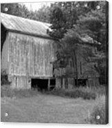 Granville Barn Bw Acrylic Print