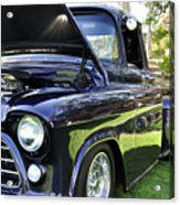 Grape Fully Blown Pickup Acrylic Print