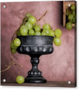 Grapes Centerpiece Acrylic Print