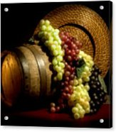 Grapes Of Wine Acrylic Print