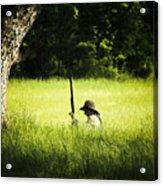 Grass Coverage Acrylic Print