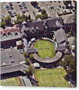 Grass Tennis Hall Of Fame 194 Bellevue Ave Newport Ri 02840 3586 Acrylic Print