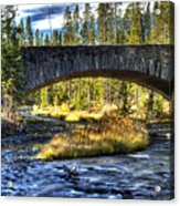 Grasshopper Creek Acrylic Print