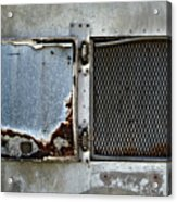 Grated Door Acrylic Print by Murray Bloom