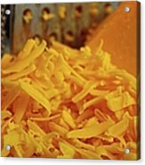 Grating Cheese I Acrylic Print
