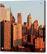 Gratte Ciel Manhattan Usa Acrylic Print