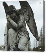Grave Angel Acrylic Print