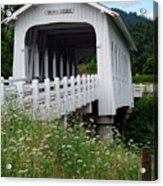 Grave Creek Bridge Acrylic Print