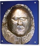 Grave Mask Acrylic Print