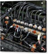Gravel Pit Paystar 5000 Truck Wiring Acrylic Print