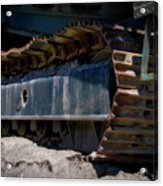 Gravel Pit Warrior Power Screen 03 Acrylic Print