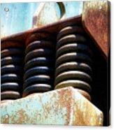 Gravel Pit Warrior Power Screen 05 Acrylic Print