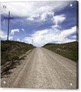 Gravel Road Acrylic Print