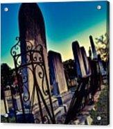 Gravesite Acrylic Print