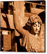 Graveyard Angel. Acrylic Print