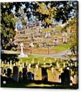 Graveyard Acrylic Print