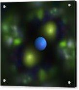 Gravitation Blue Acrylic Print