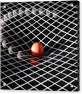 Gravity Simulation Acrylic Print