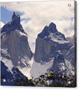 Gray Glacier Chile Acrylic Print