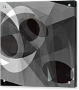Gray On Gray Acrylic Print