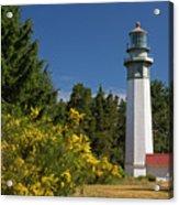 Grays Harbor Lighthouse H Acrylic Print