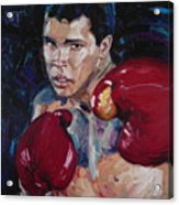 Great Ali Acrylic Print