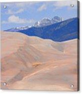 Great Colorado Sand Dunes Acrylic Print