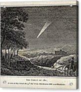 Great Comet Of 1811 Acrylic Print