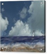 Great Day For Sailing Acrylic Print