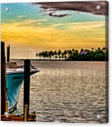 Great Day To Fish Acrylic Print