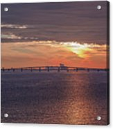 Great Egg Harbor Ocean City New Jersey Acrylic Print