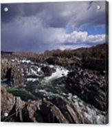 Great Falls - January 2011 Acrylic Print