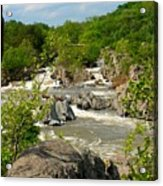 Great Falls Acrylic Print