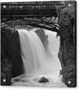 Great Falls In  Paterson Nj Acrylic Print