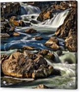 Great Falls Overlook #5 Acrylic Print