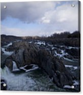 Great Falls Winter 2011 Acrylic Print