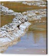 Great Fountain Geyser Firehole Lake Drive Acrylic Print