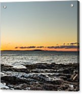 Great Head Beach Sunrise Acrylic Print