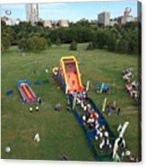 Great Inflatable Race Acrylic Print