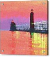 Great Lakes Light Acrylic Print