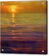Great Lakes Setting Sun Acrylic Print