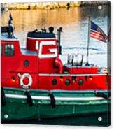 Great Lakes Towing Tug Florida Acrylic Print