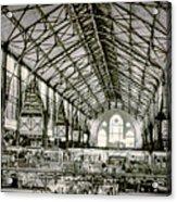 Great Market Hall Acrylic Print