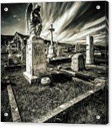 Great Orme Graveyard Acrylic Print