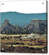 Great Plains Acrylic Print