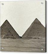 Great Pyramids Acrylic Print