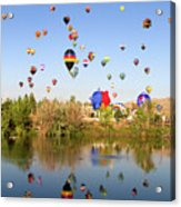 Great Reno Balloon Races Acrylic Print