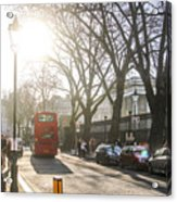 Great Russell St. In The Afternoon Acrylic Print