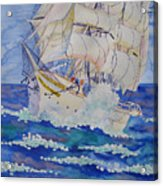 Great Sails.2006 Acrylic Print