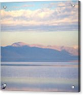 Great Salt Lake Pastel Morning Acrylic Print